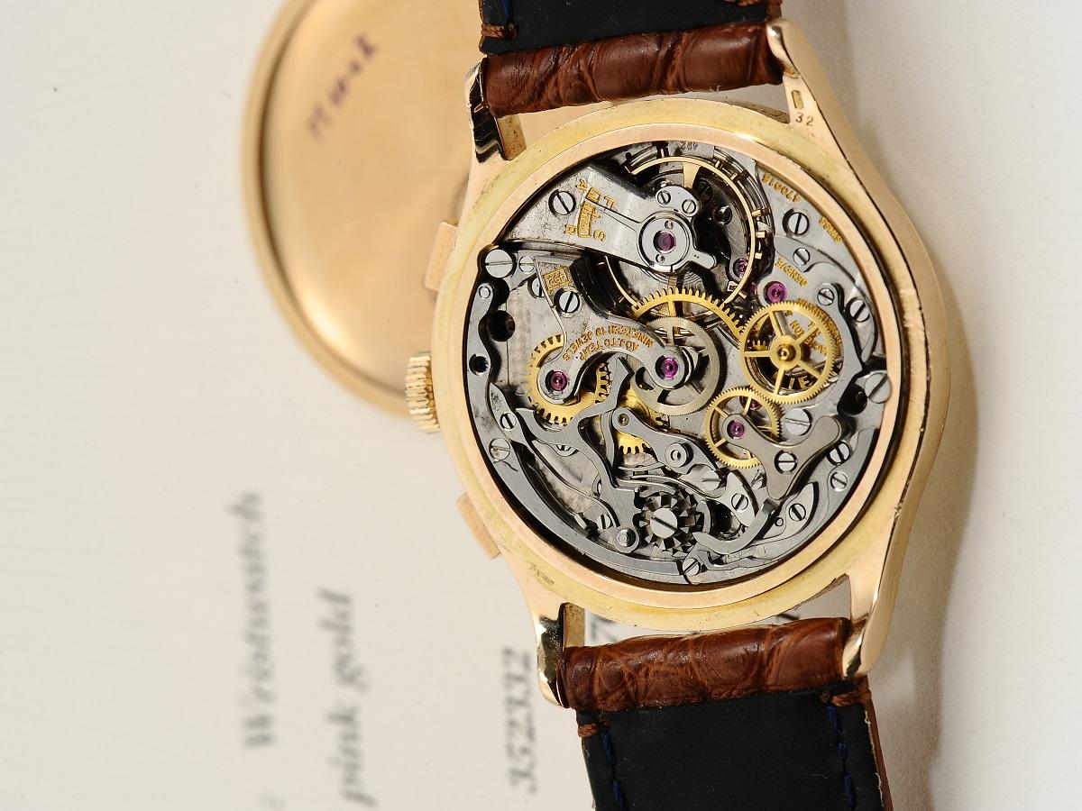 Uhrwerk einer Armbanduhr