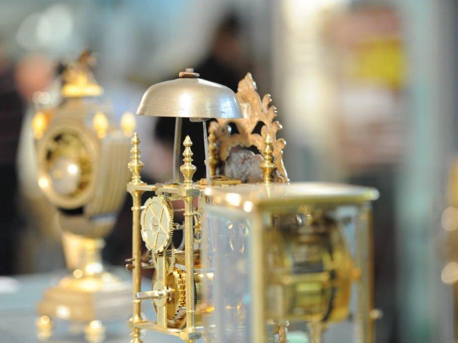 Ausstellungsobjekte Uhrenbörse