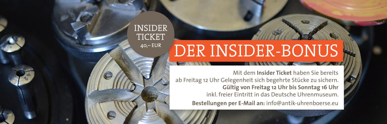 Insider-Ticket